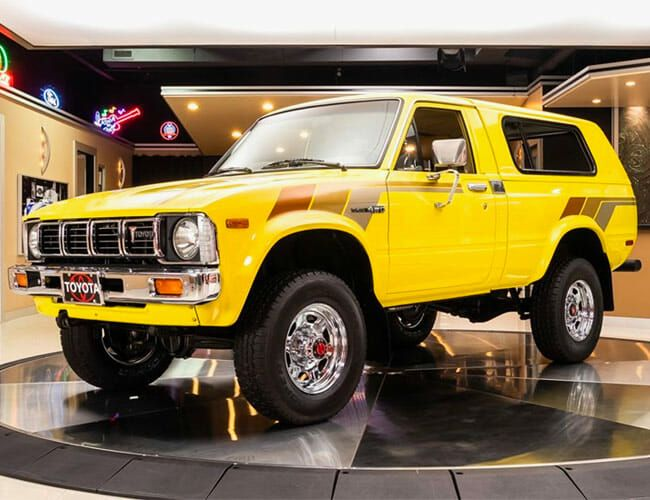 Would You Spend $50,000 On This Old, Obscure Toyota Off-Roader?