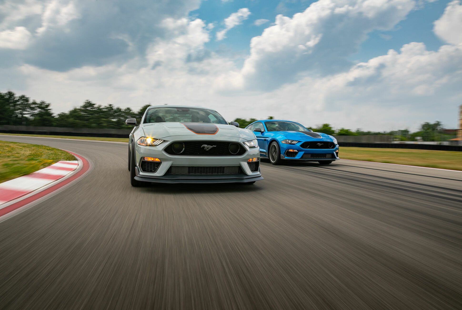 the 2021 ford mustang mach 1 is a retro track attacker