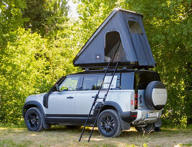 The Land Rover Defender Now Offers Its Very Own Rooftop Tent