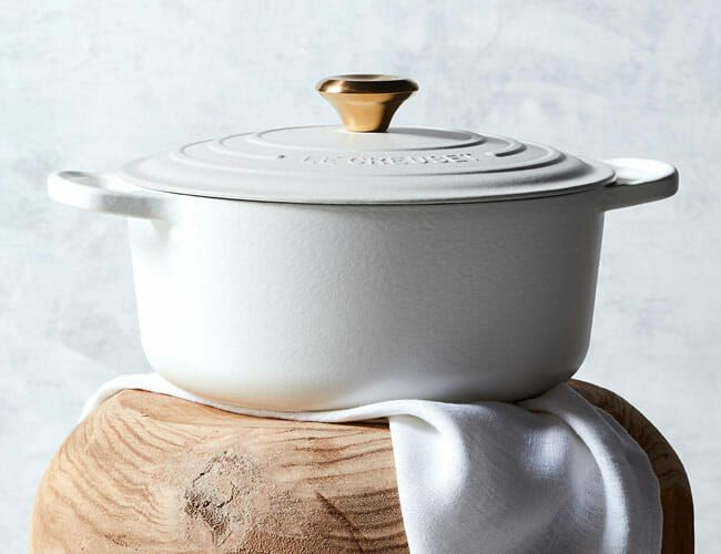 Getting Married? There's a Special Le Creuset Cast-Iron Pot for That