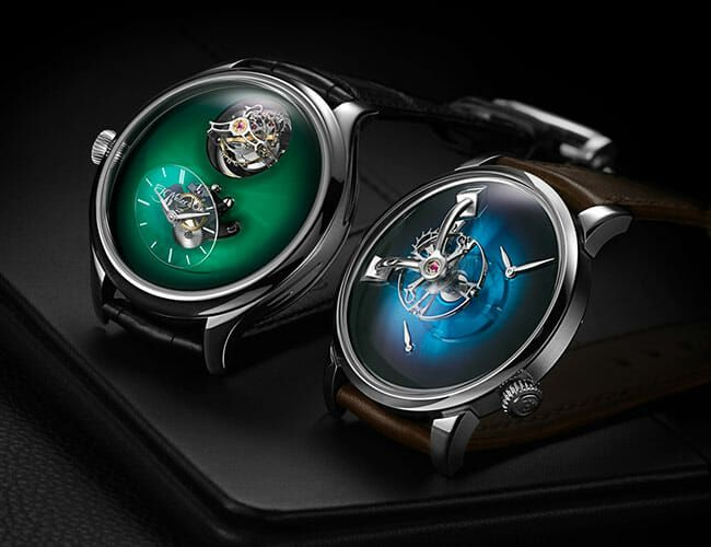 Two Avant-Garde Swiss Watch Brands Announce an Epic Collab