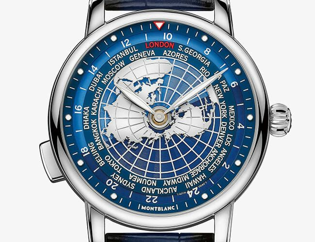 This Striking World Time Watch Begs to Be Your New Travel Companion