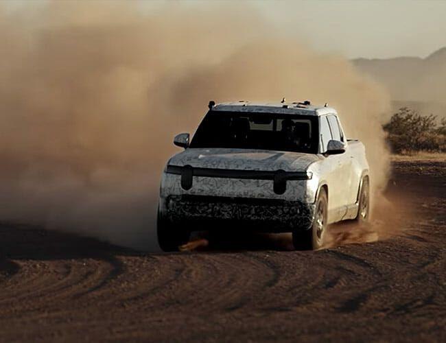 Watch One of the Coolest Pickup Trucks of the Future Strut Its Stuff