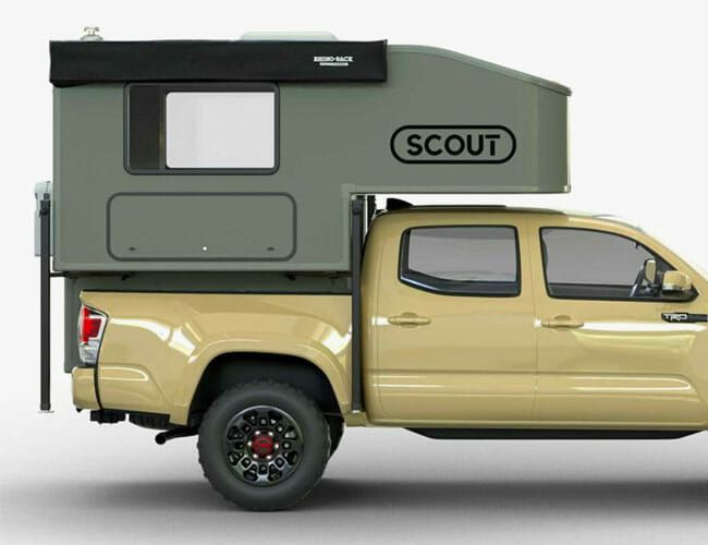 This Camper Turns Any Midsize Pickup Truck Into an Overlanding Beast