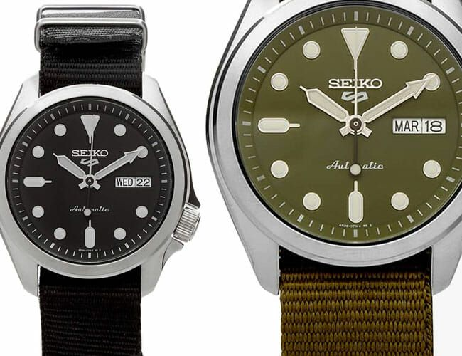 Seiko's Ultra-Affordable Automatic Sport Watches Get a New Look