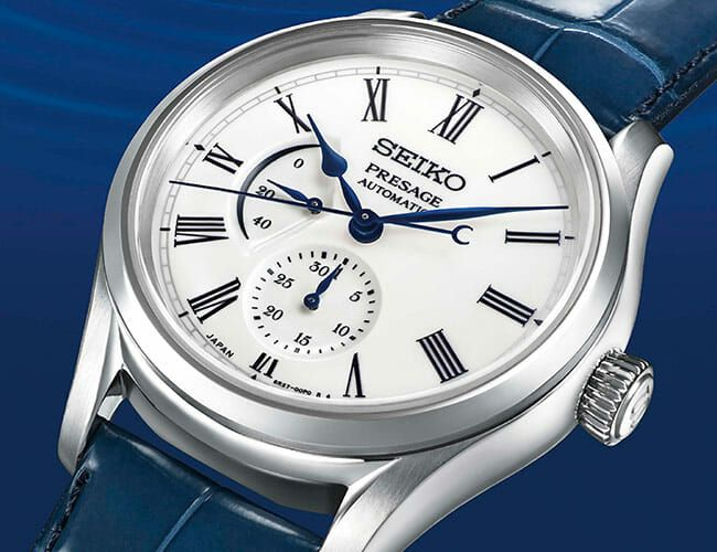 Seiko's New Porcelain Dial Watch Is Unsurprisingly Exquisite