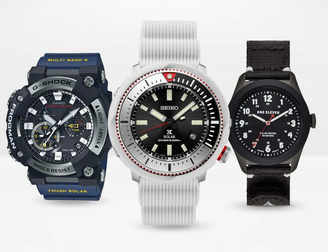 10 Great Solar-Powered Watches for Summer Sun