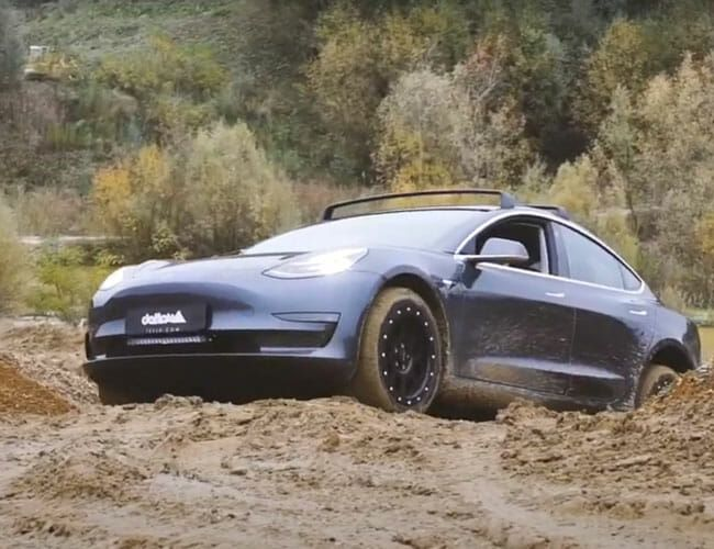 Who Needs the Electric Hummer When You Can Buy an Off-Road Tesla Model 3?