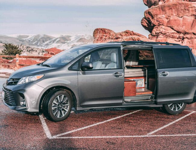 A Toyota Sienna Camper Van Could Be Your Affordable Ticket into #Vanlife