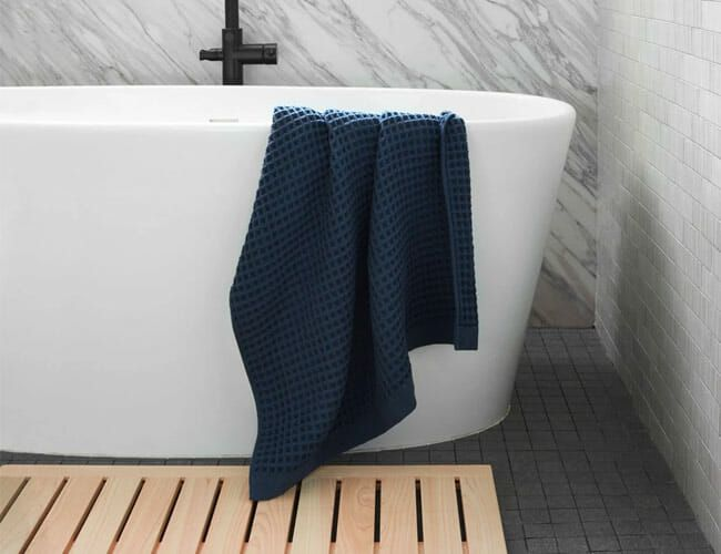 Please Stop Buying Cloth Bath Mats. They're Gross and Weird