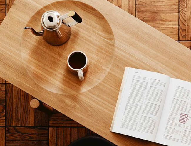 This Slick Coffee Table Is the Result of Customer Fanfare