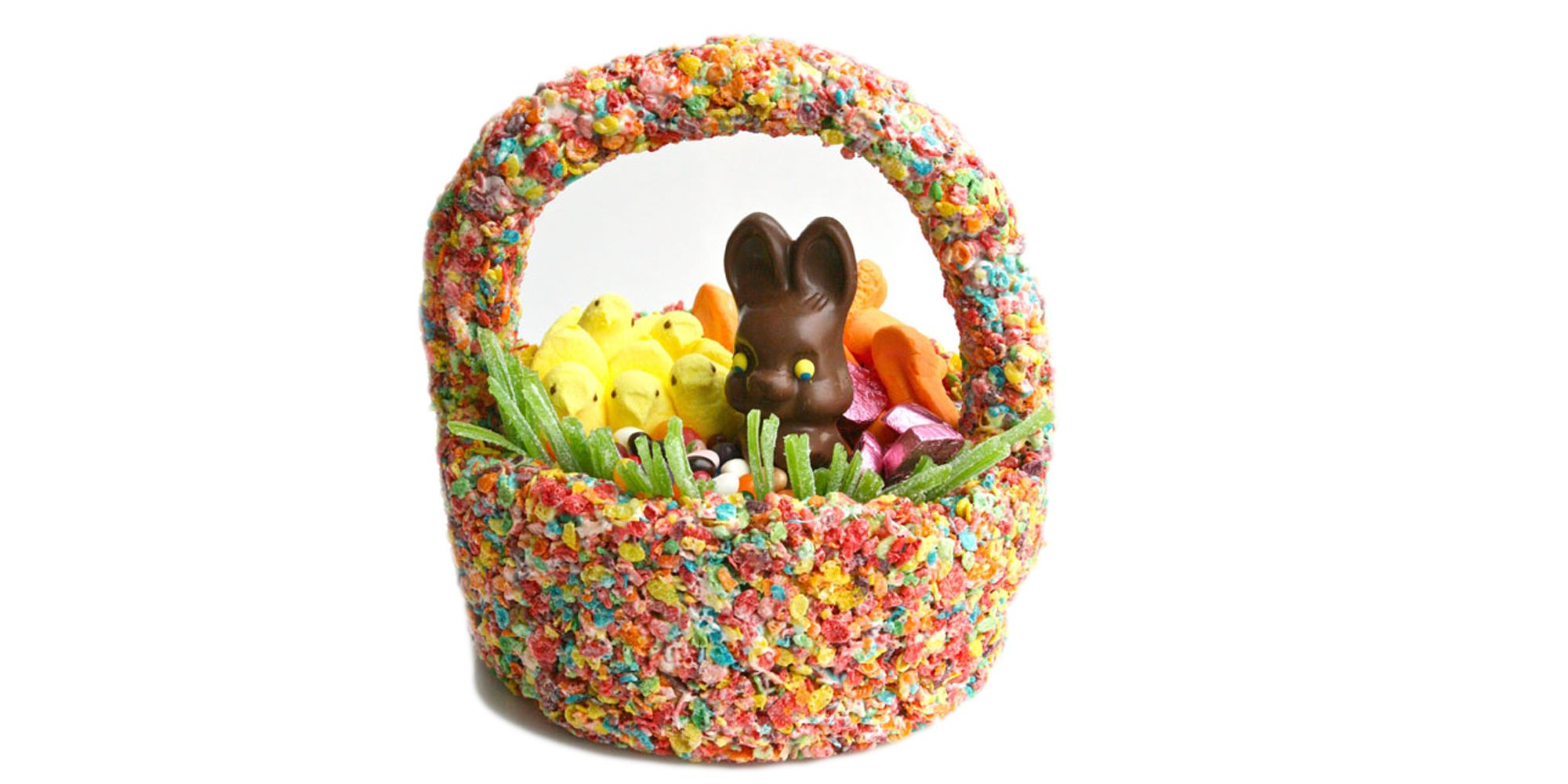 Edible easter basket cereal easter basket how to ccuart Image collections