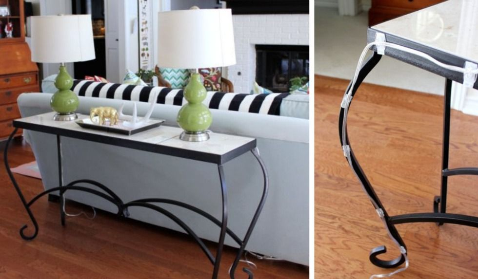 17 Sneaky Ways to Use Adhesive Hooks or Strips