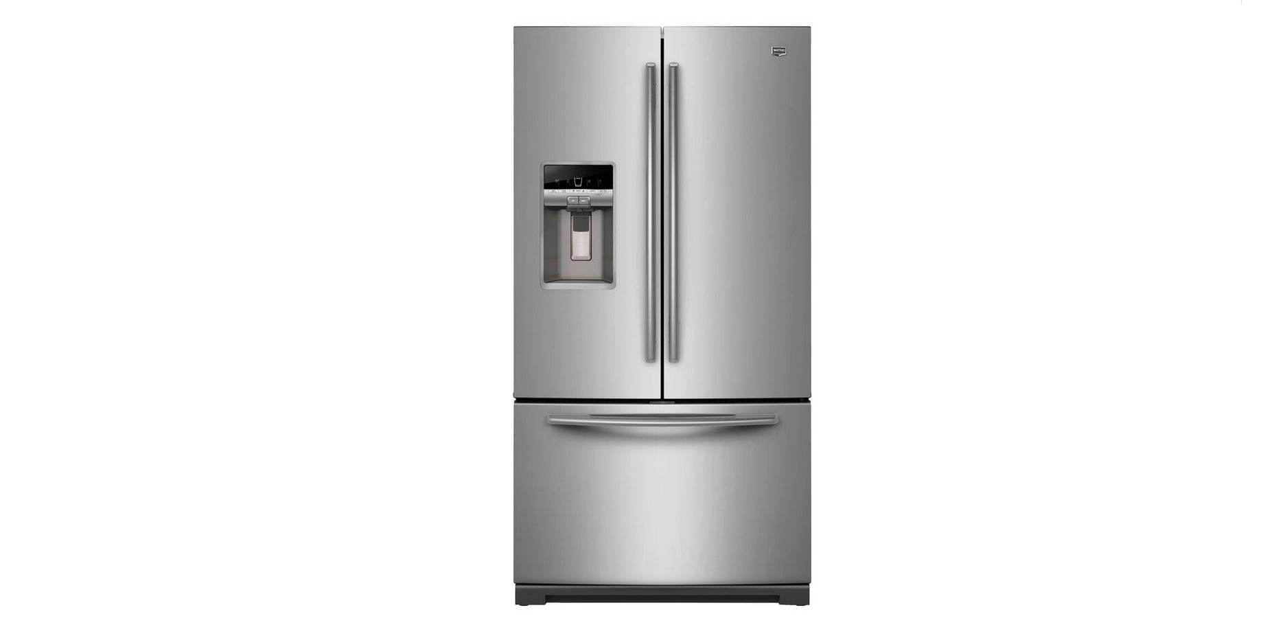 Maytag French Door Refrigerator with Cool Core Temperature ...