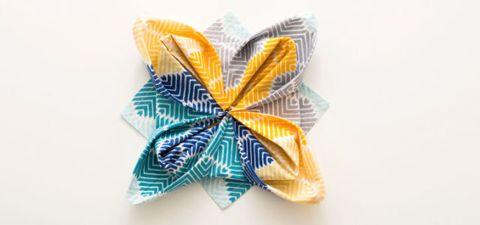 Ribbon, Font, Pattern, Paper product, Paper, Teal, Aqua, Natural material, Craft, Party favor,