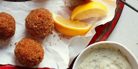 Crawfish Boudin Balls