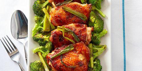Mahogany Chicken and Broccoli
