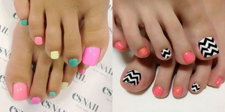 Courtesy of bloggers - Pedicure Nail Art Ideas - Nail Art Inspiration For Toes