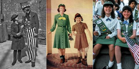 Girl Scouts Style History - How the Girl Scouts Uniform Has Changed