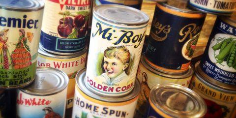 Aluminum can, Beverage can, Tin can, Ingredient, Logo, Tin, Alcohol, Metal, Produce, Blond,