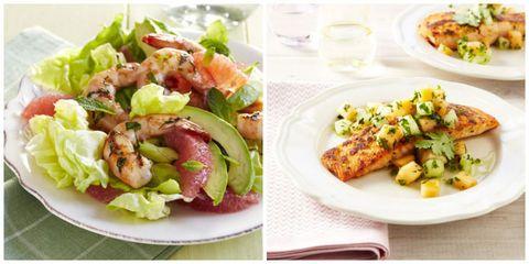 Food, Cuisine, Ingredient, Dishware, Plate, Dish, Salad, Tableware, Recipe, Leaf vegetable,