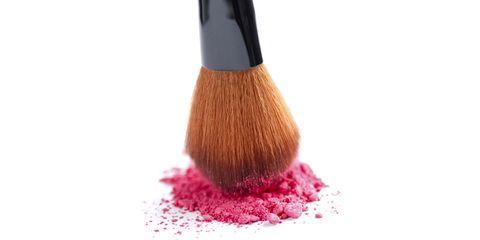 Brush, Pink, Magenta, Ingredient, Powder, Peach, Makeup brushes, Paint, Paint brush, Coquelicot,