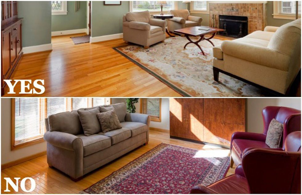 how to choose an area rug home decorating tips rh goodhousekeeping com photos of living rooms with area rugs