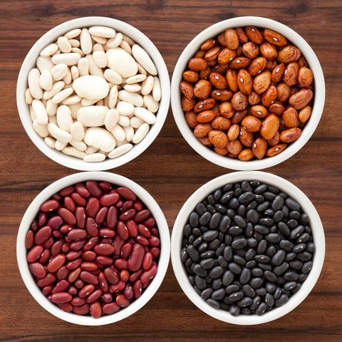 "<p>Beans, beans, are the indeed the magical fruit for this family, who buys 25-lb bags. ""We keep food grade, five-gallon tubs of flour, sugar, and beans,"" she says.</p>"