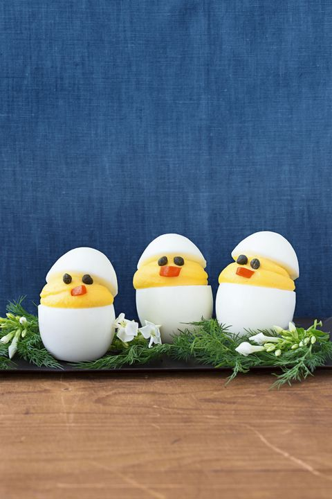 Deviled Chicks - Easter Dinner Ideas