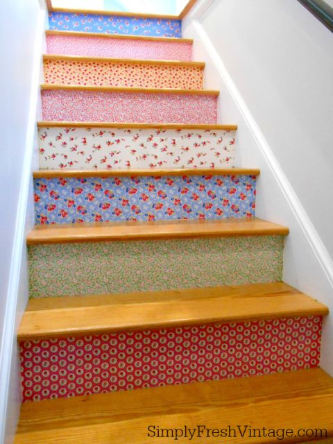 Fabric Staircase Ideas
