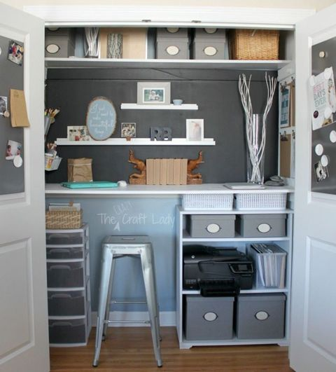 organized office closet. Interesting Closet Image Intended Organized Office Closet G