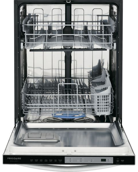 Frigidaire gallery 24 built in dishwasher fgid2474qf review image publicscrutiny Image collections