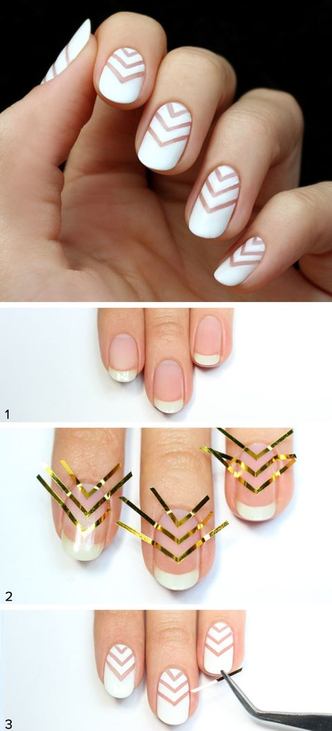 Tricky Nail Design Tutorials - Easy Nail Art Ideas That Seem Tricky