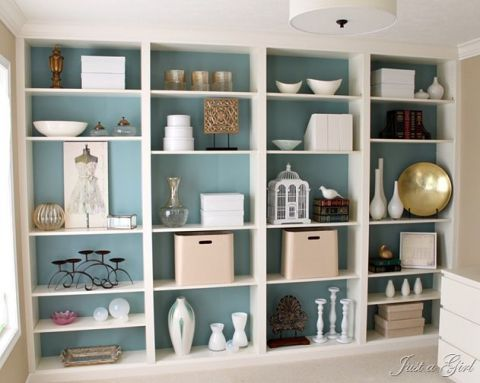 image - Ikea Built In Bookshelves