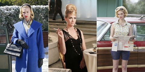 Betty Draper's Best Style Moments - Mad Men Season 7 Premiere