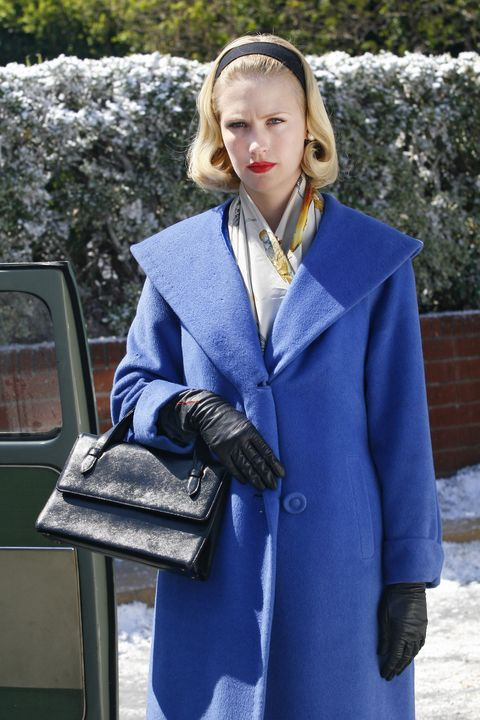 Betty Draper (January Jones) - Mad Men - Season 1, Episode 13 - Photo Credit: Carin Baer/AMC