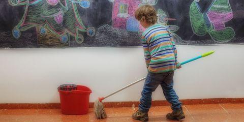 Kid Cleaning School