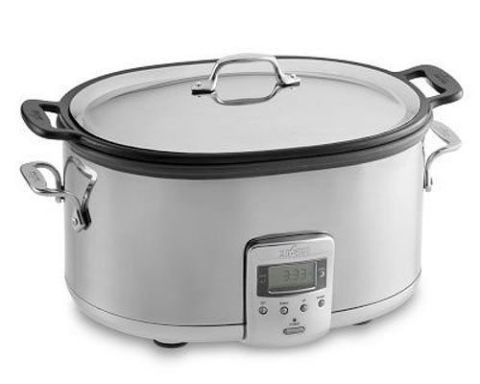 All-Clad 7 Qt. Electric Slow Cooker with Cast Aluminum Insert