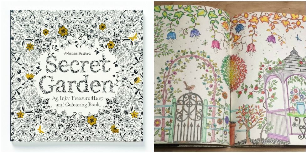 Adult Coloring Books Johanna Basford Secret Garden