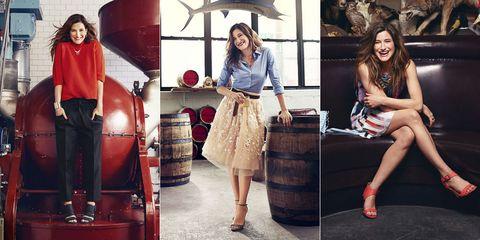 Kathryn Hahn Style - Good Housekeeping Spring Fashion