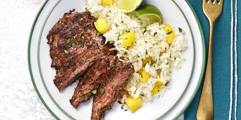 Chili Steak With Hawaiian Rice