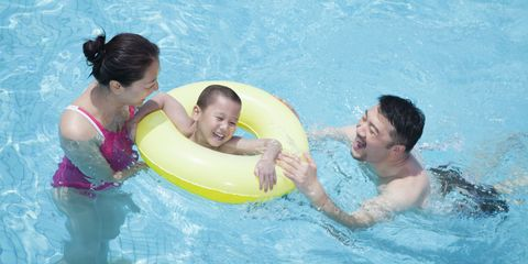Family Swimming Pool Safety