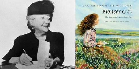Laura Ingalls Wilder and Pioneer Girl book cover