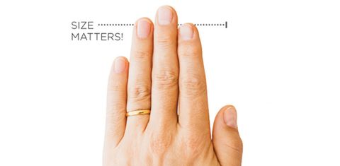 Finger Length Personality Test - Men's Digit Ratio Meaning