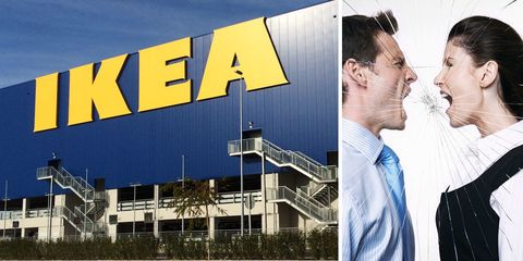 Fighting at IKEA