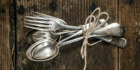 Vintage Silverware Crafts