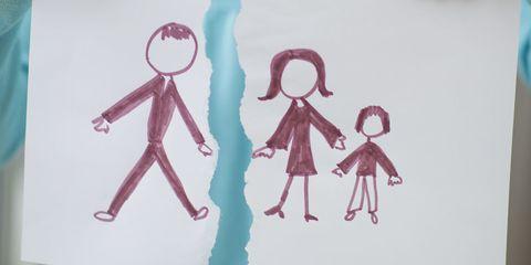 Divorce Arrangement Kids Health