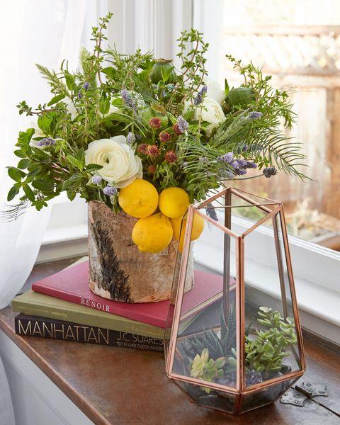 Lemon Herbs Floral Arrangment