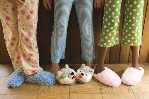 Leg, Trousers, Textile, Human leg, Pattern, Toy, Plush, Stuffed toy, Polka dot, Design,