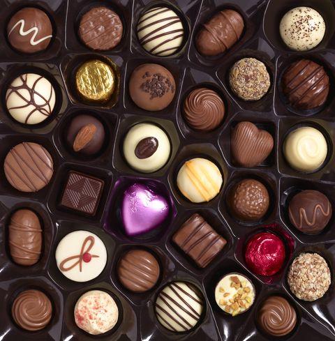 Brown, Purple, Food, Sweetness, Chocolate, Collection, Dessert, Violet, Lavender, Cuisine,